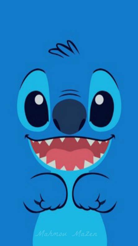 blue cartoon cute