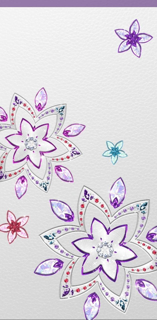 Jewel Flower stitch