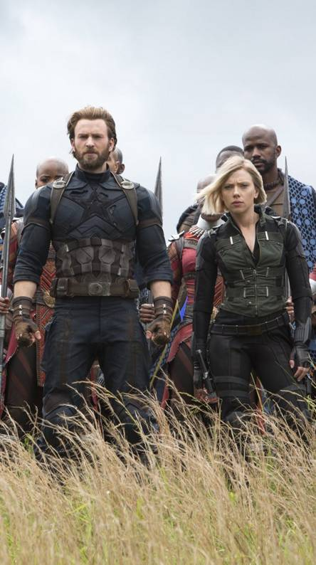 Captain-Black Widow
