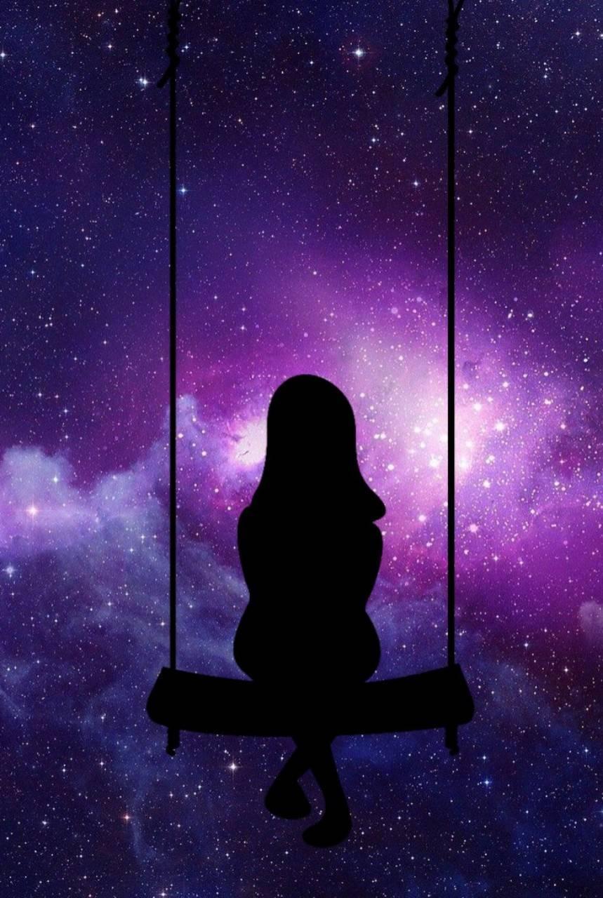 Galaxy girl wallpaper by editz4u 0c free on zedge - Galaxy wallpaper for girls ...