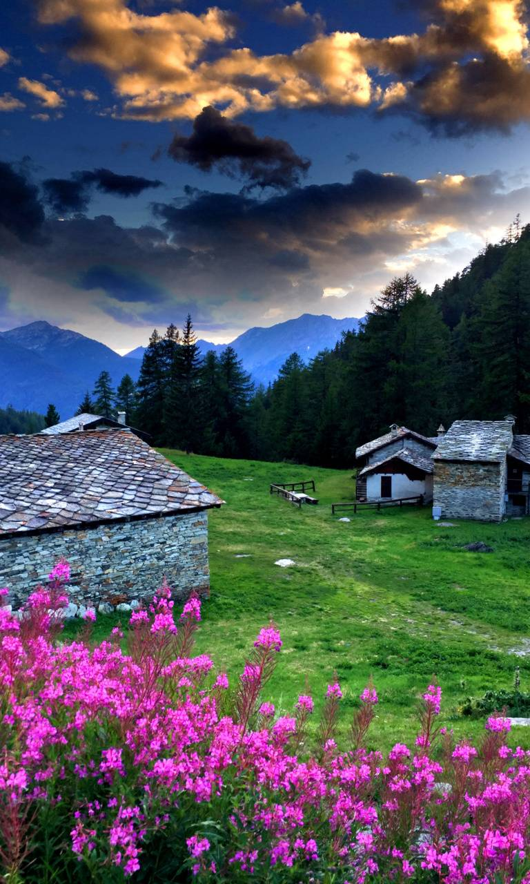 Alpine dusk