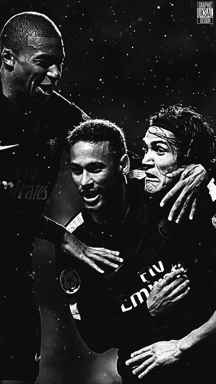 Neymar Mbappe Cavani Wallpaper By Baranuksaldesign F2 Free On Zedge