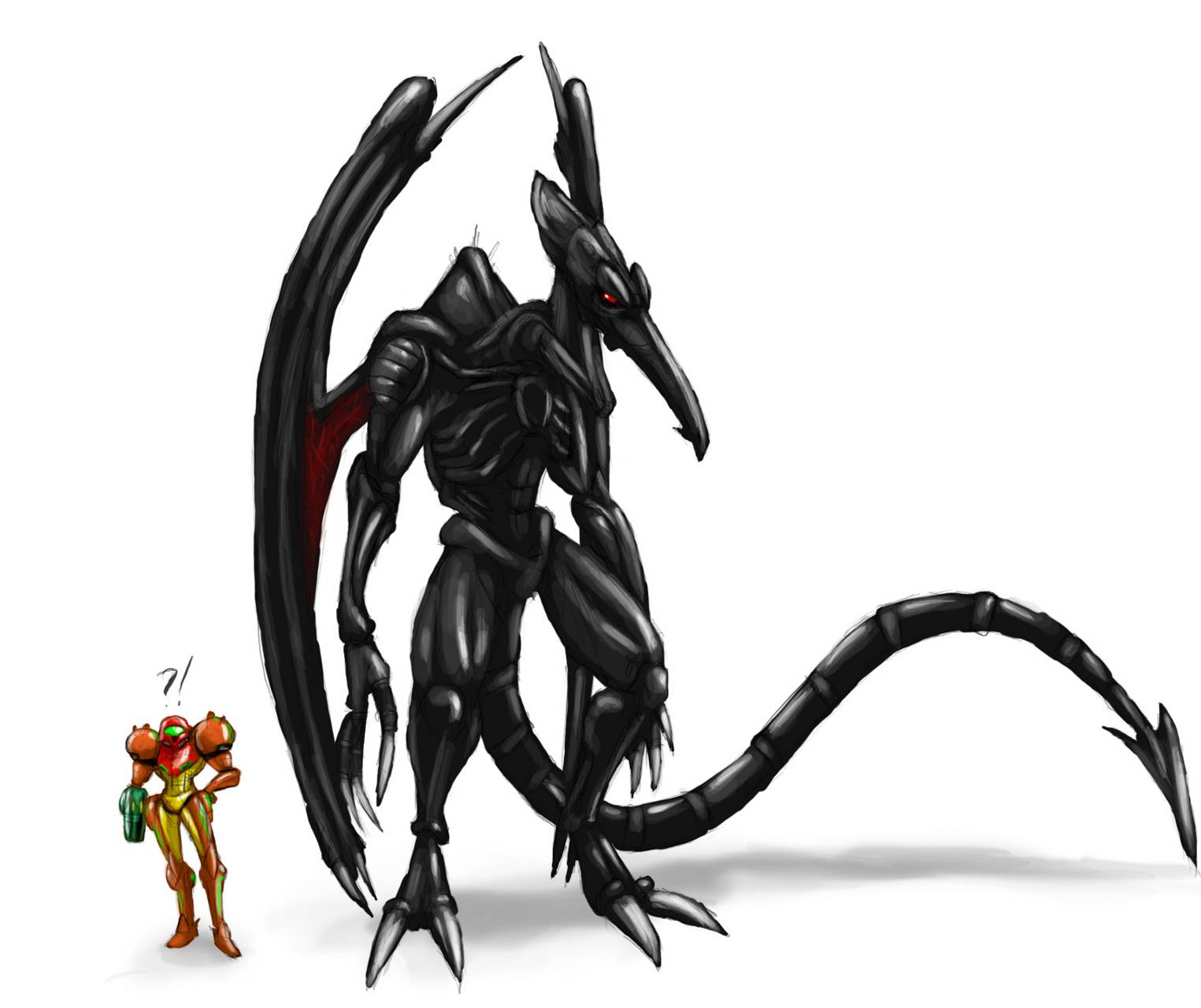 Samus And Ridley Wallpaper By Lordasmodeus D7 Free On Zedge