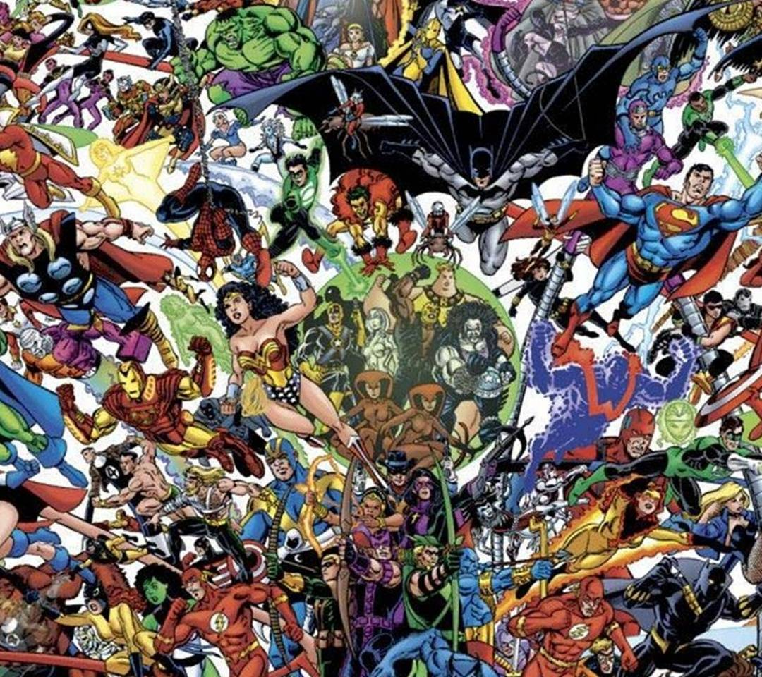 Marvel vs dc wallpaper by debodapro bf free on zedge - Marvel and dc wallpapers ...