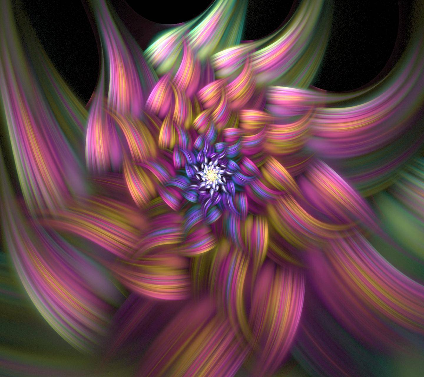 Abstract Flower