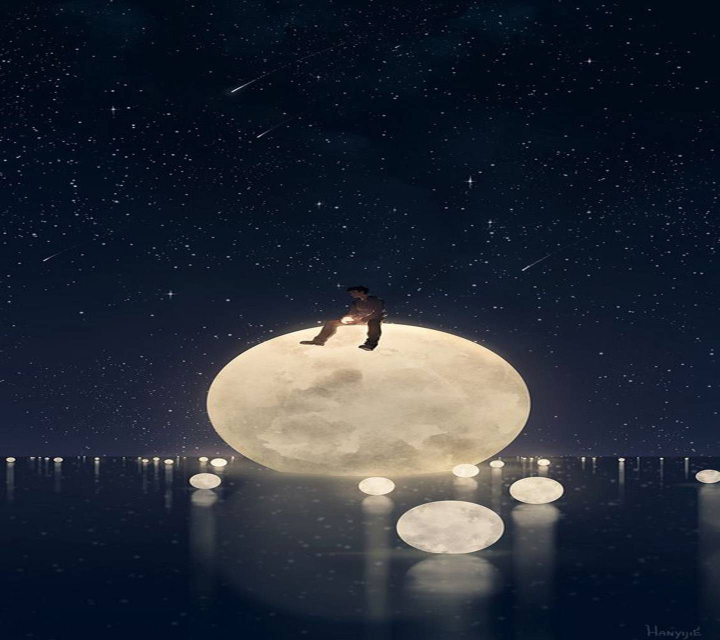 Moons in the Sea