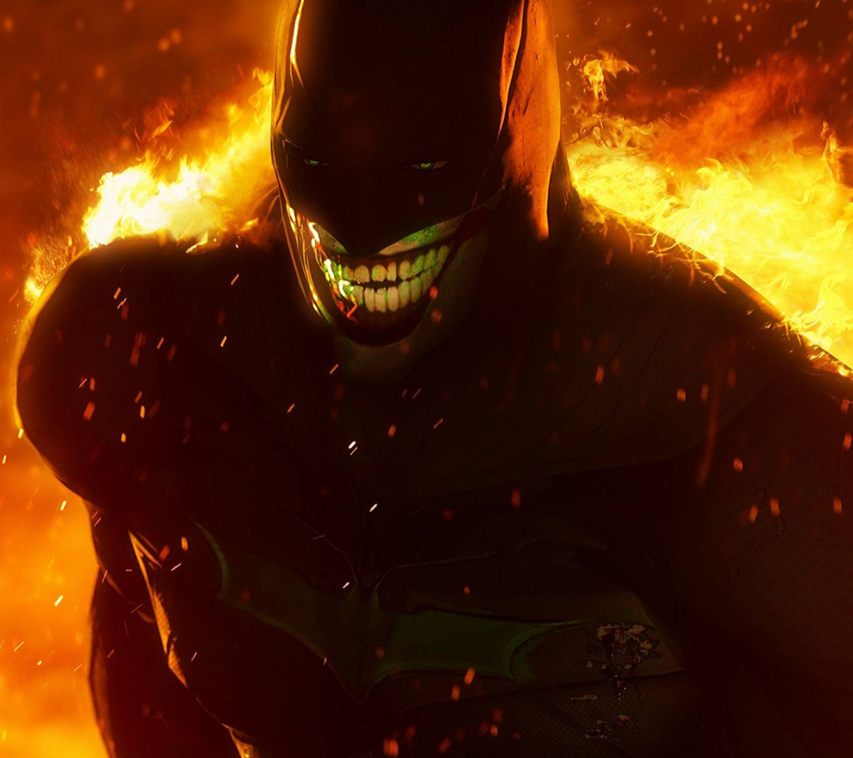 Jokerized Batman