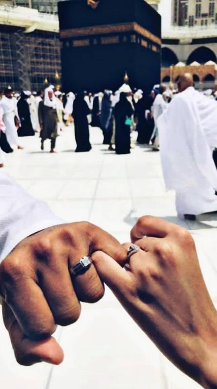 Couple Nikkah