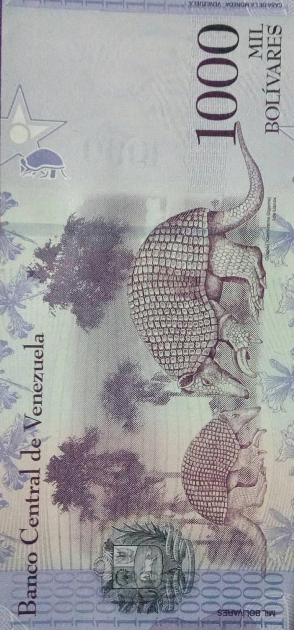 1000 Bolivars