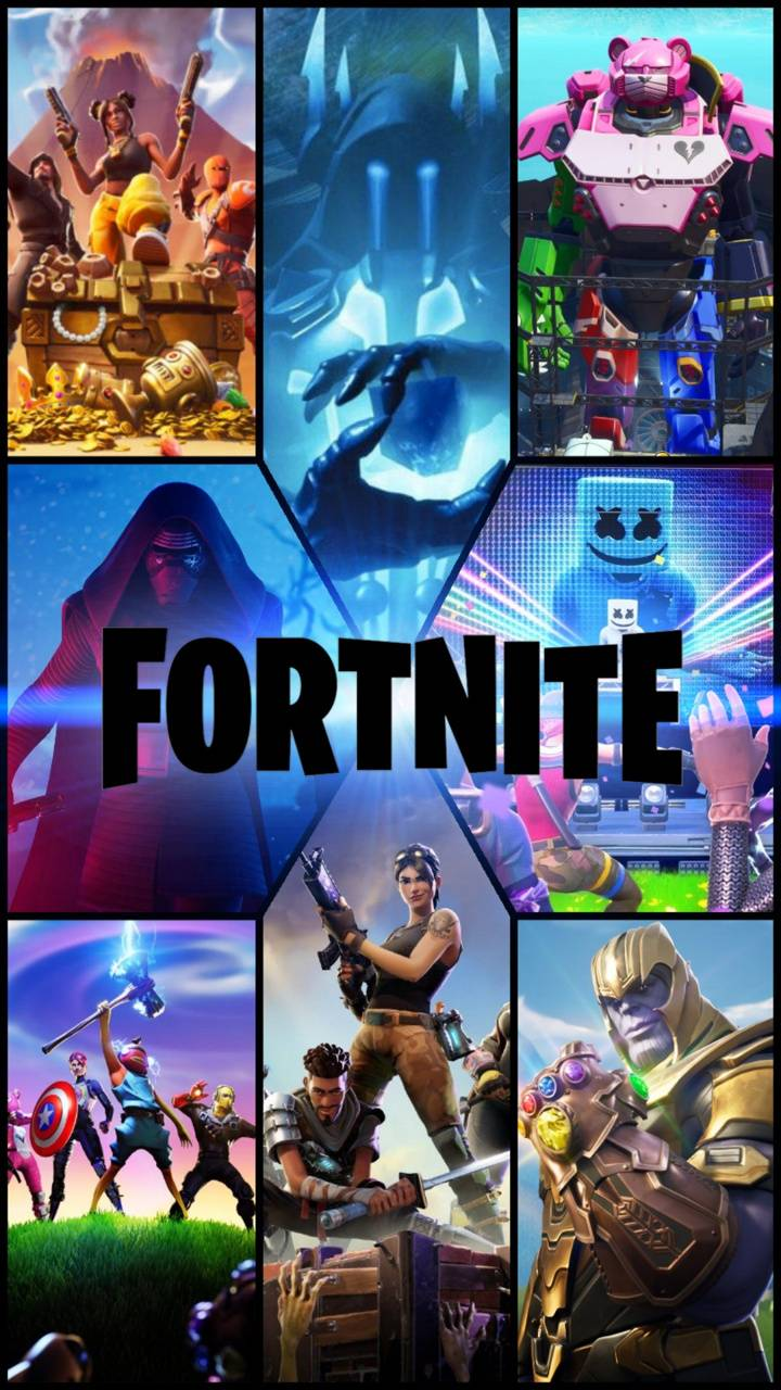 Fortnite Collage Wallpaper By Brodoom Eb Free On Zedge