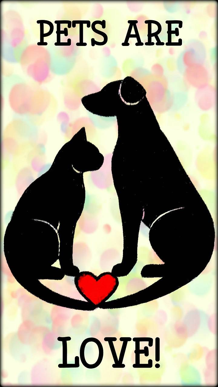 Pets Are LOVE art