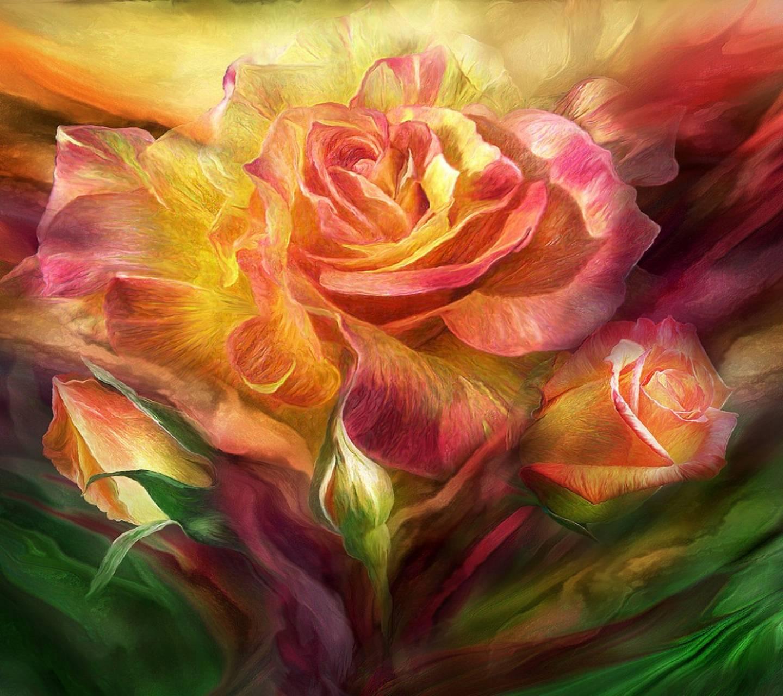 Floral  Roses
