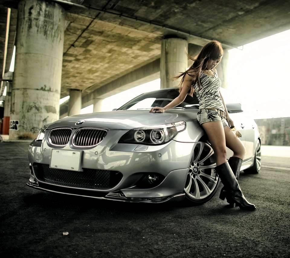 Bmw Car Wallpaper: Bmw Girl Wallpaper By Jokensy