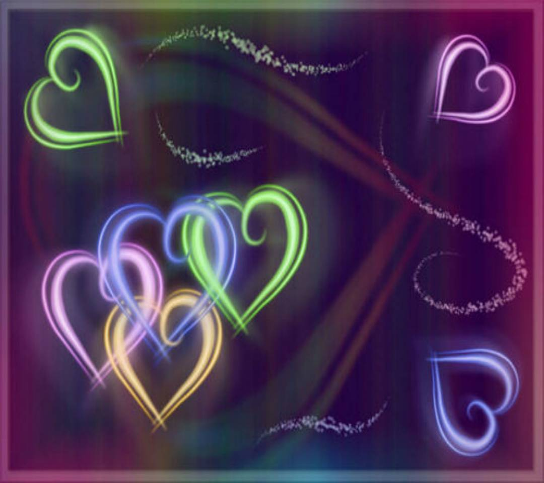 Hearts In Colors