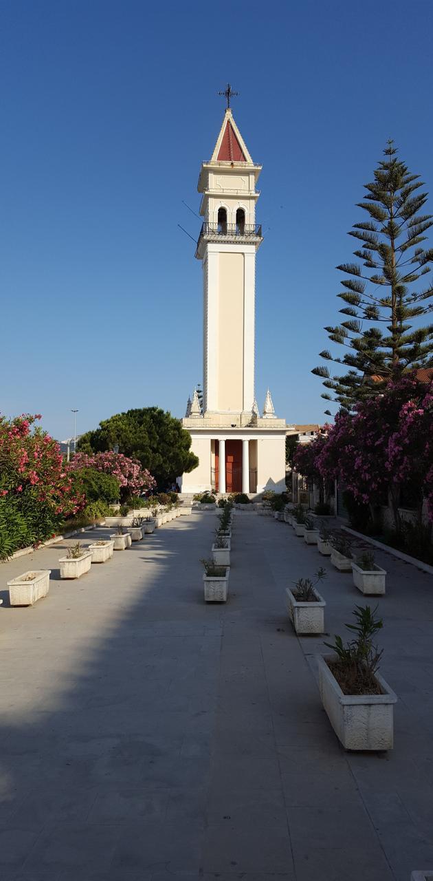Zakynthos church