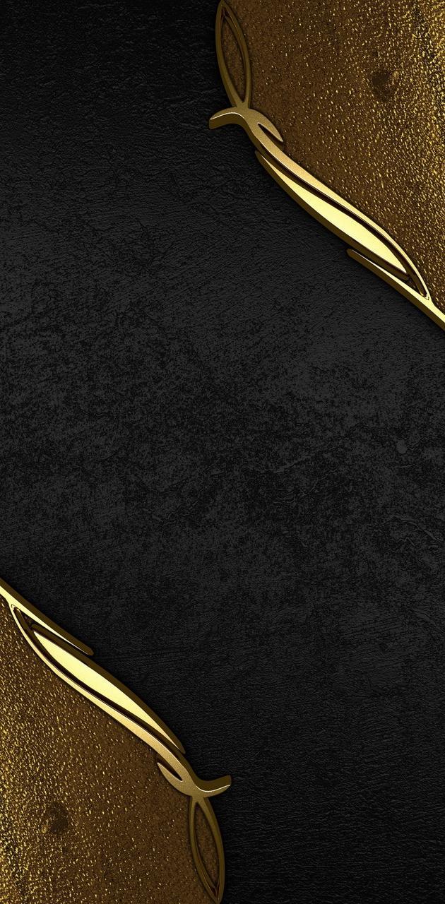 Elegant Gold Black