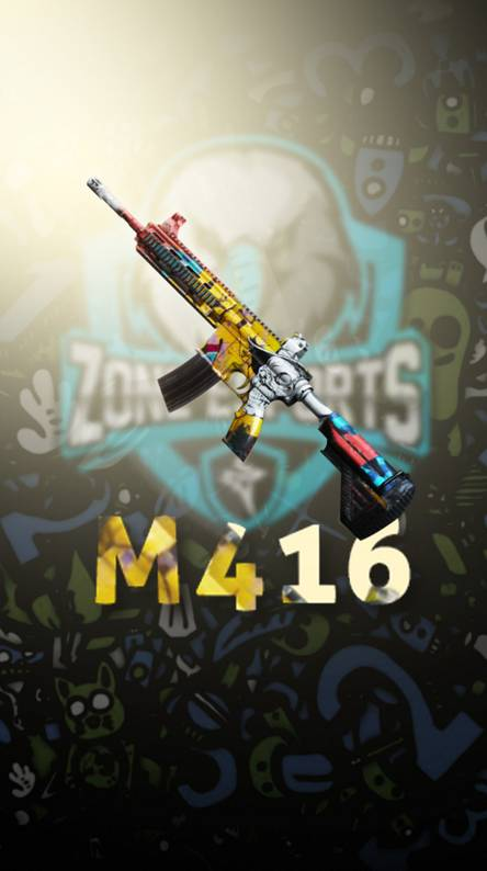 M416 New Skin In Pubg Ringtones And Wallpapers Free By Zedge