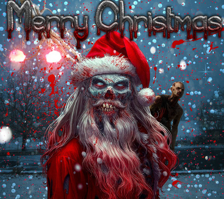 zombie christmas