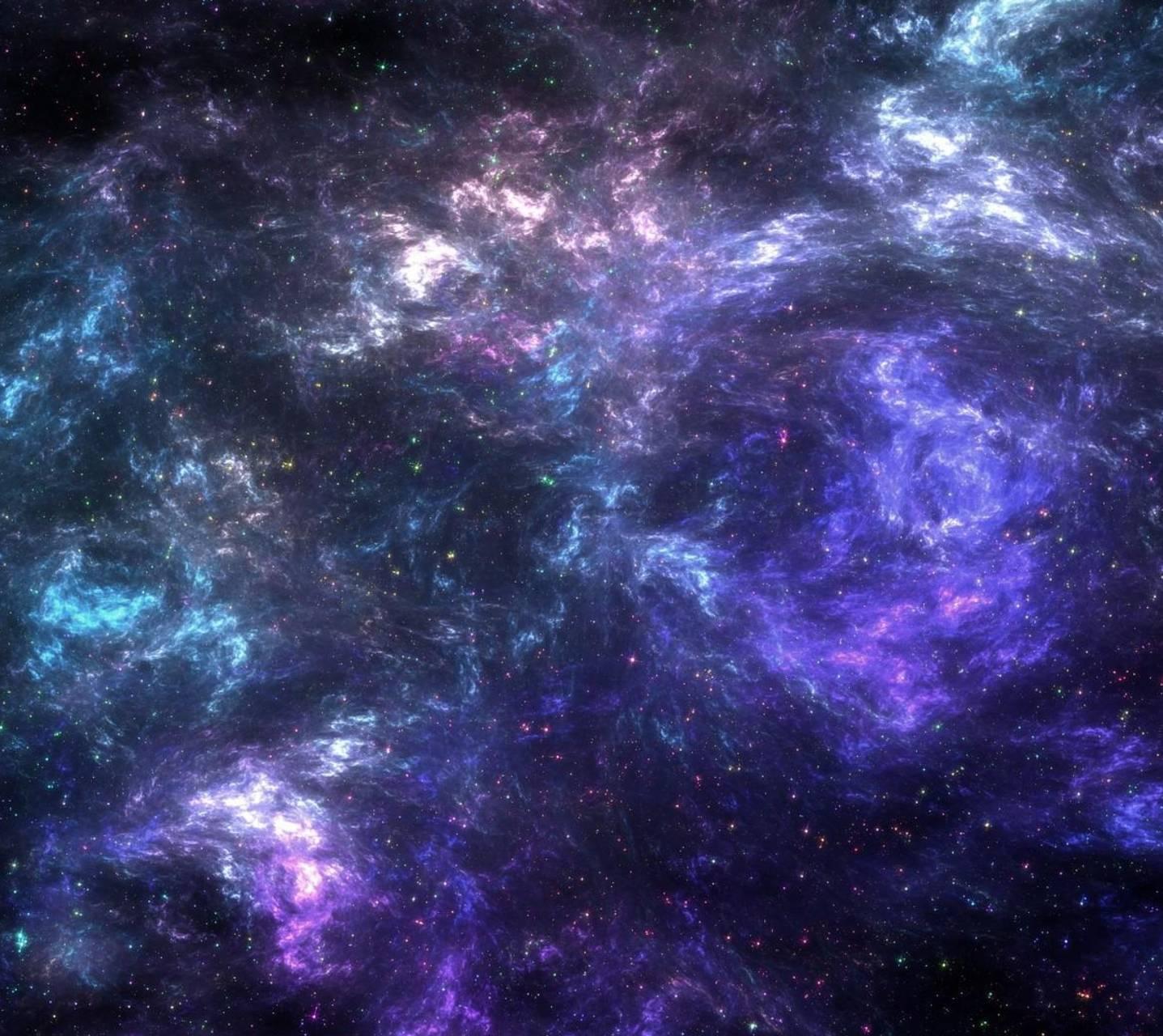 Purple blue Nebula