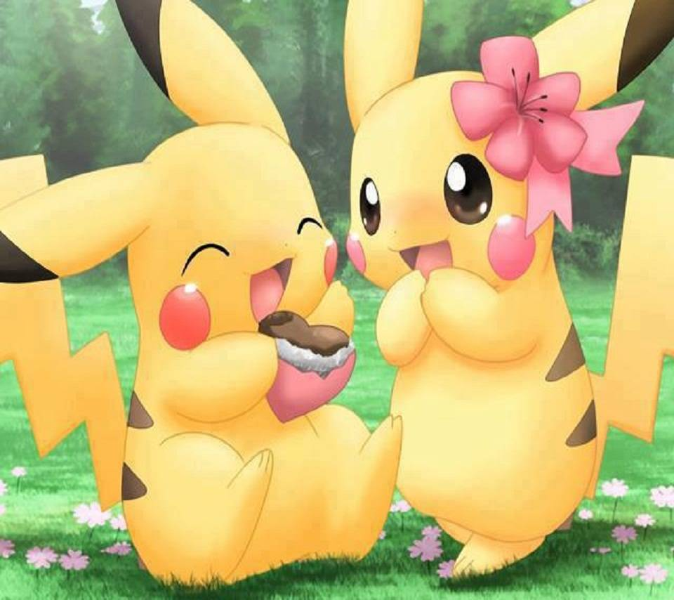 Pikachu Couple