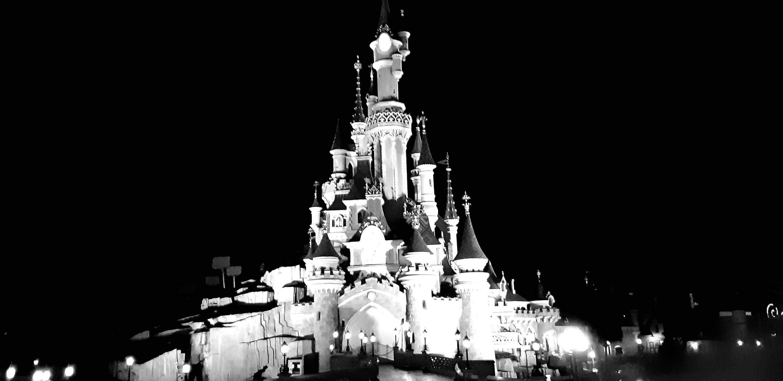 Disney castle paris