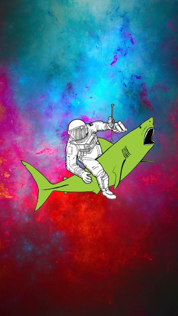 Astronaut sharky
