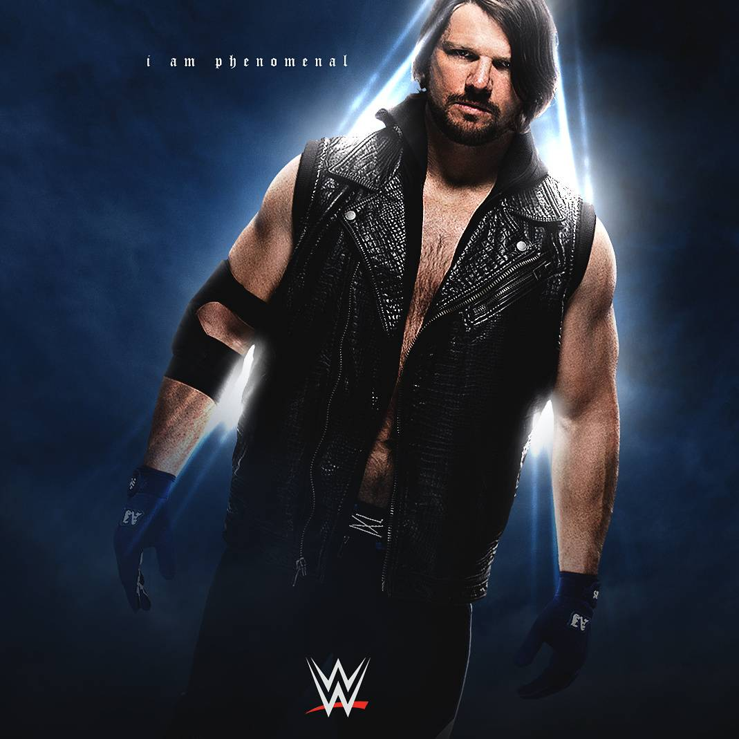 AJ Styles Wallpaper By Andrewvenn19