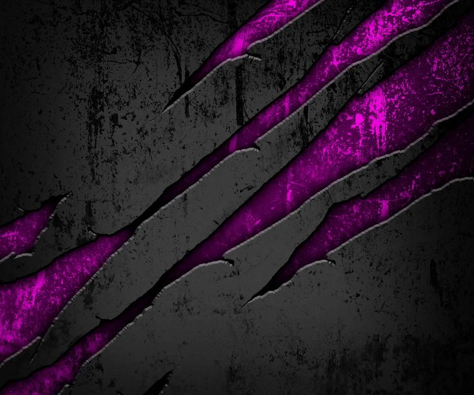 cracked metal pink