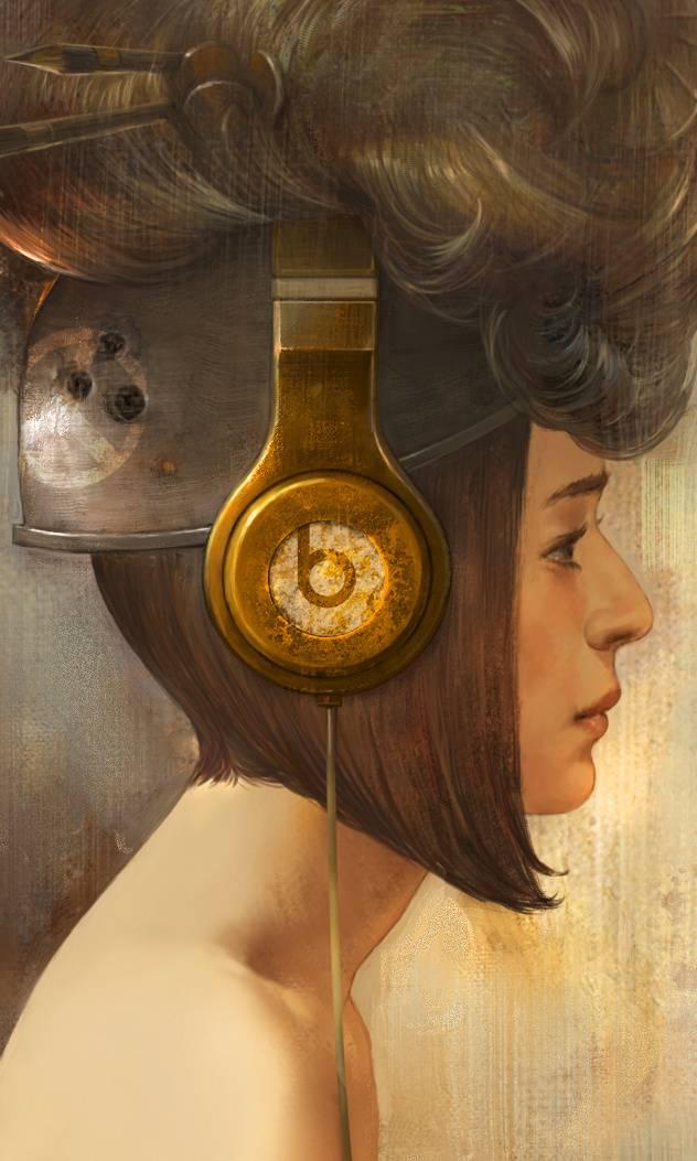 Headphone Girl