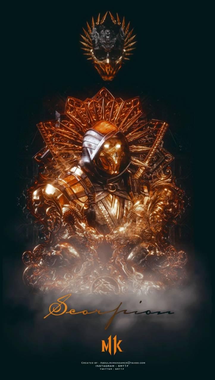 Scorpion mk11 gold