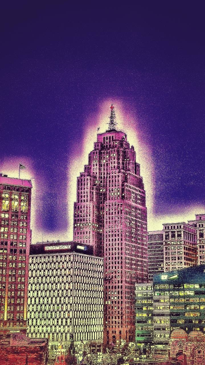 Downtown Detroit Wallpaper By Hartsinthed A7 Free On Zedge