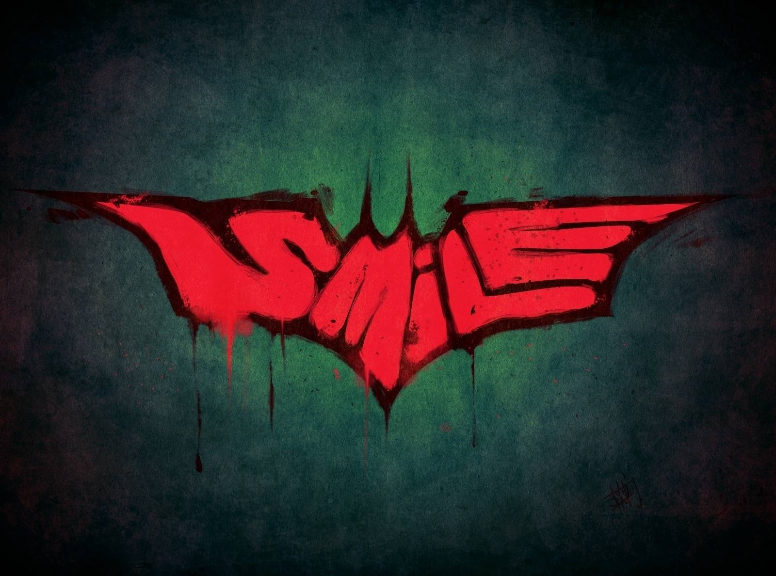 Batman Smile Art