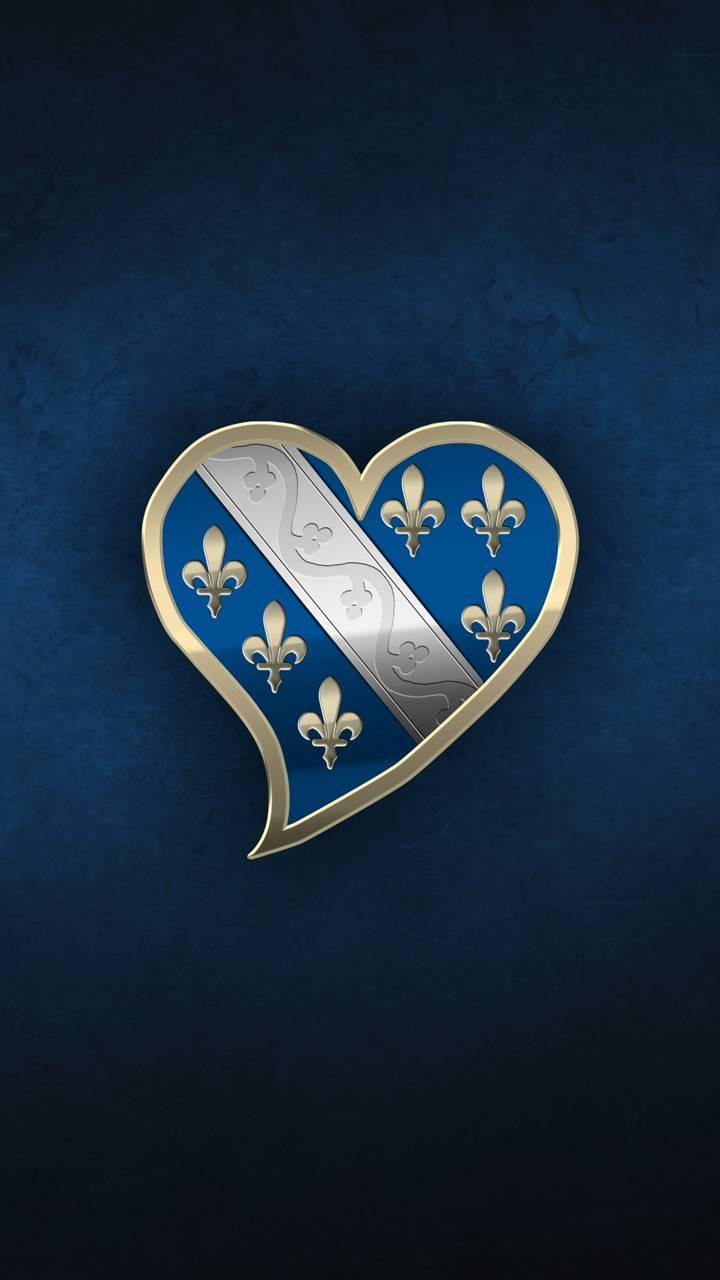 Bosnian Heart Blue