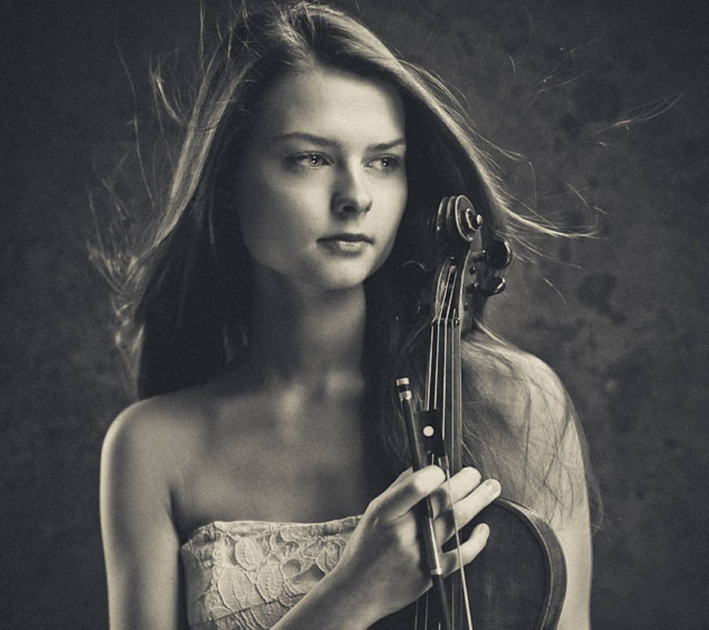 Girl With Violin Wallpaper By Colorfulworld C7 Free On Zedge