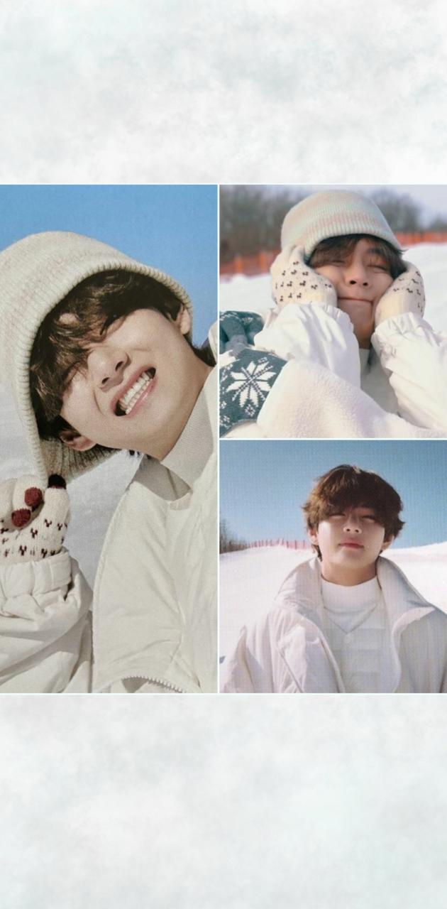 BTS V Snow Day