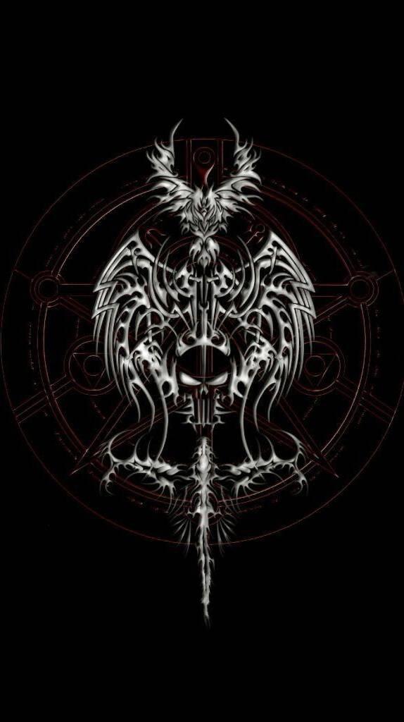Dark Skull Wallpaper By Ace Of Spades 6d Free On Zedge