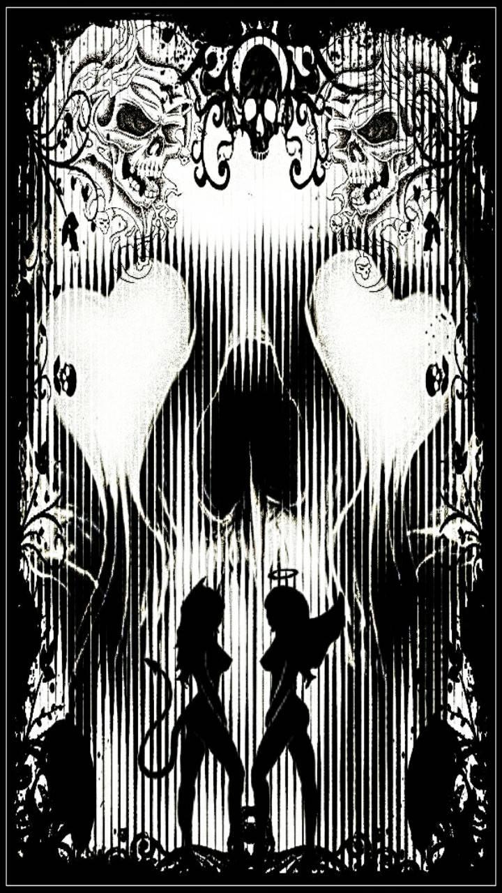 Devil Angel Skulls