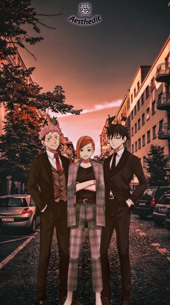 Jujutsu Kaisen Trio