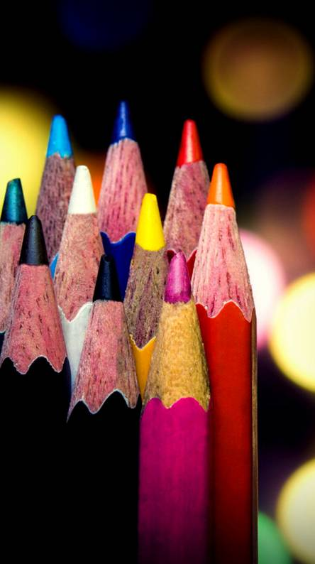 Bokeh Pencils