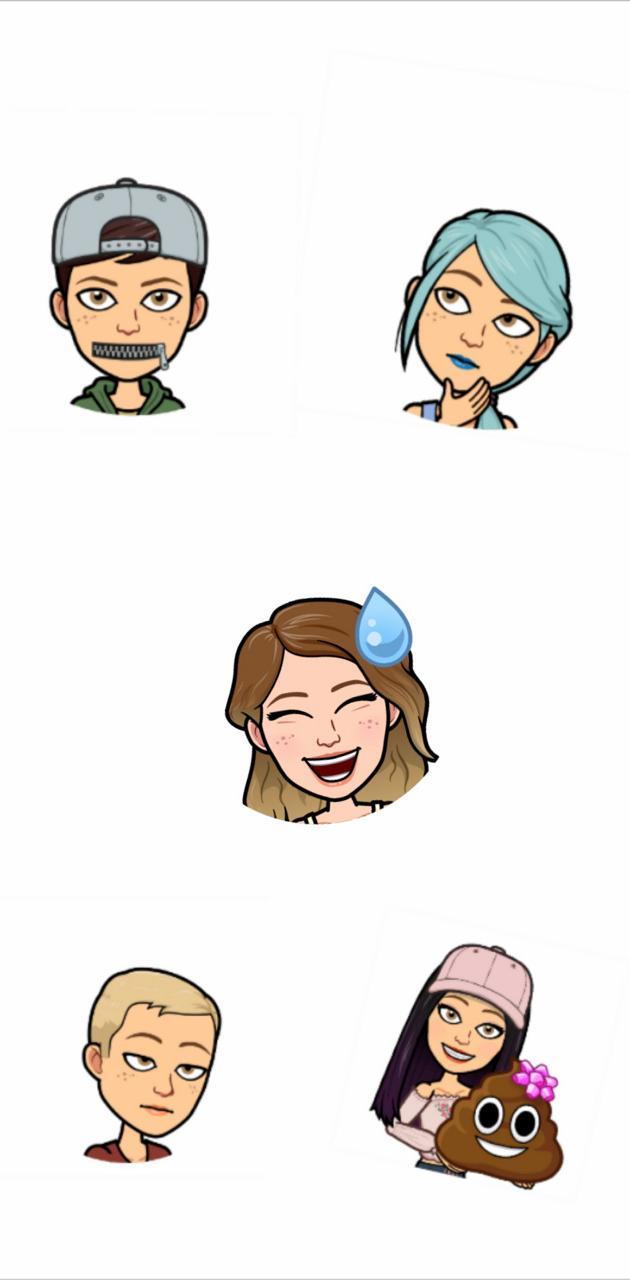 Bitmoji Emojis
