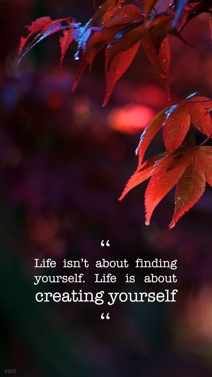 Life isn t about