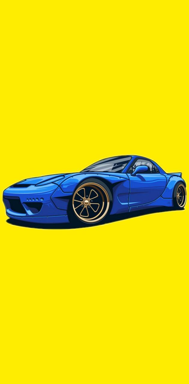Car art rx-7