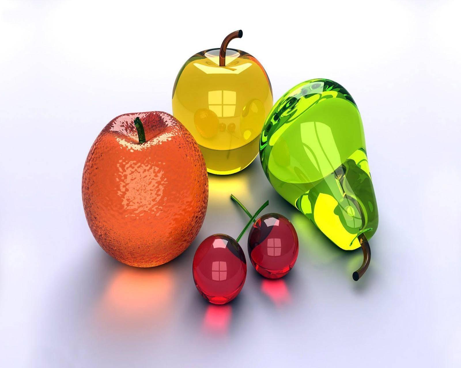 3d Fruits