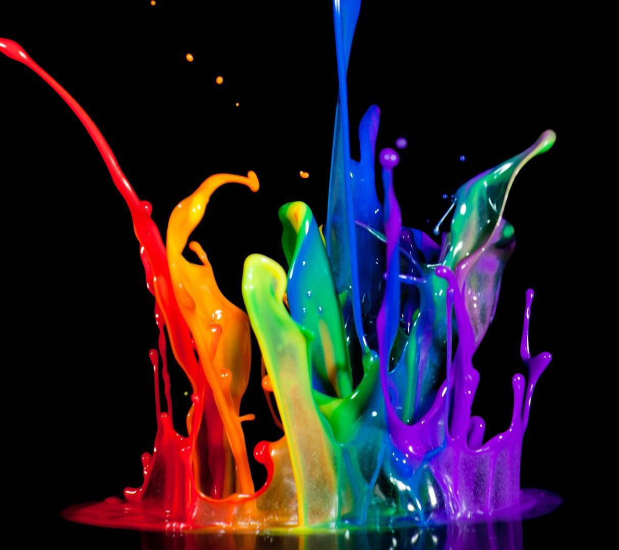 Color Splash Wallpaper By RamEzio