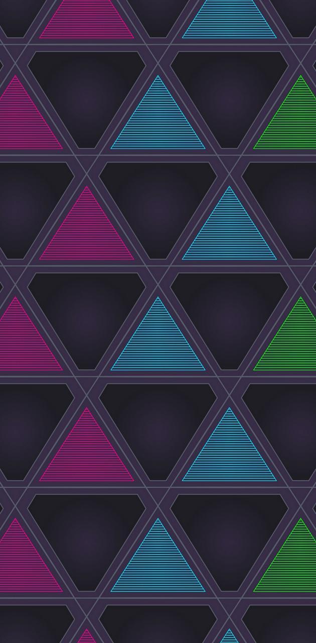 triangle colourfull