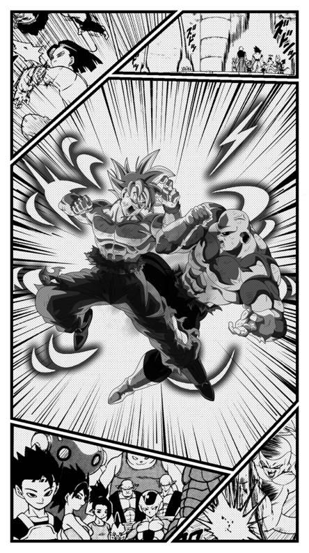 DBS Manga Style