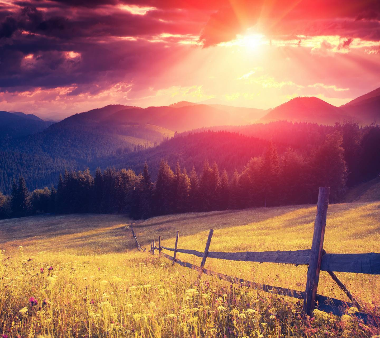 sunset filed