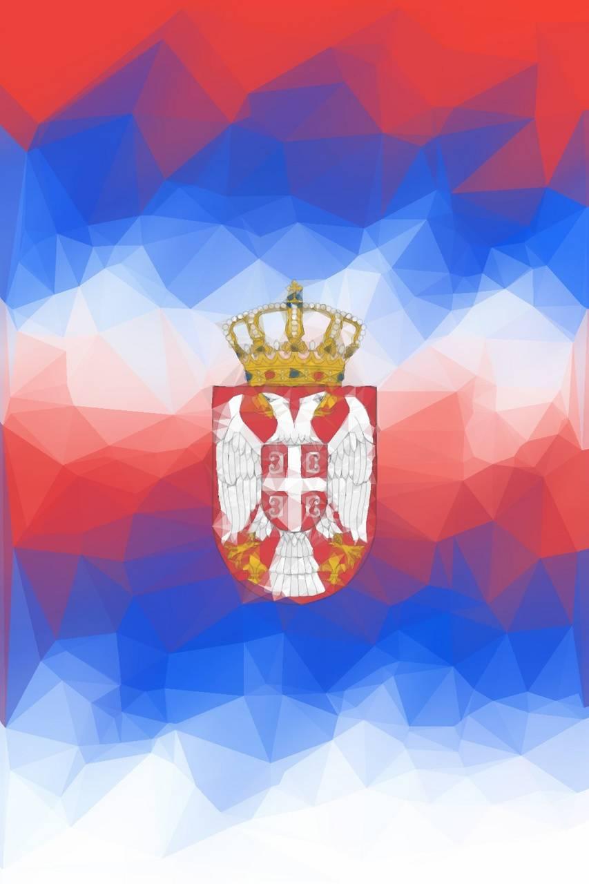 Serbian Flag Pattern