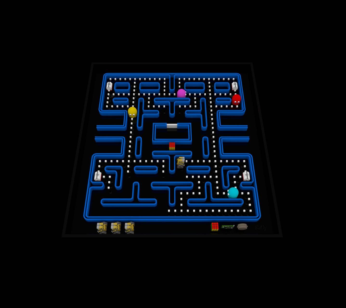 Pac-Man Wall