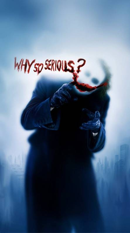 Why So Serious Wallpapers Free By Zedge
